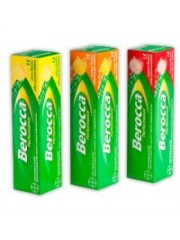 Berocca Performance Effervescent, Orange Flavour, 15 Tablets (Pack of  ...